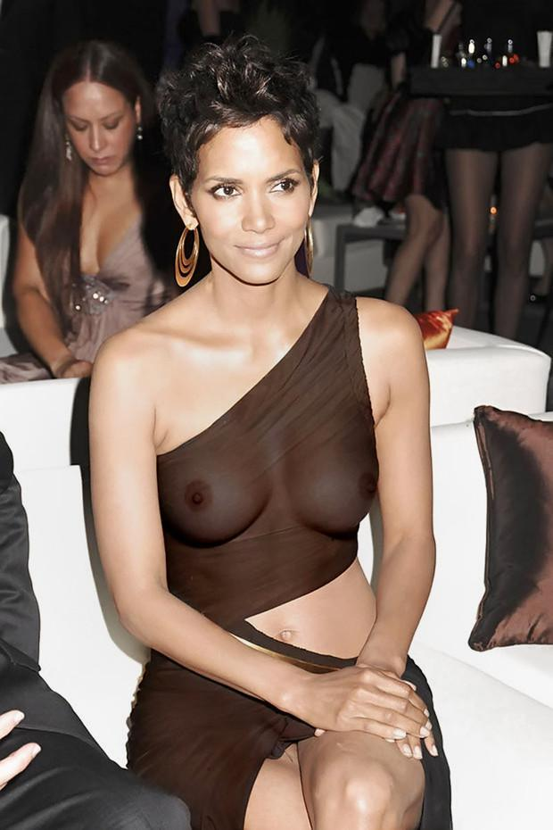 Halle berry real sex pics consider, that