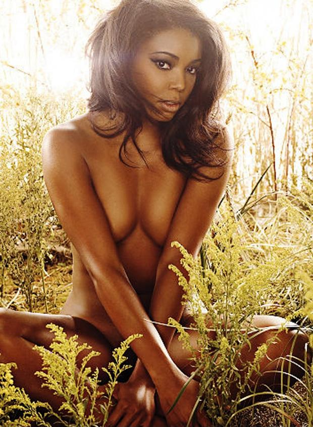 Something is. gabrielle union tits