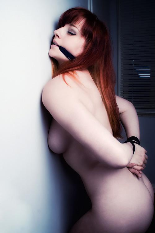 Out redhead naked bound to regret