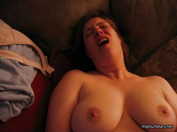Big Amateur Tits Sucking Dick