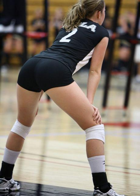 Pussy Beats Girls Volleyball Shorts Nude