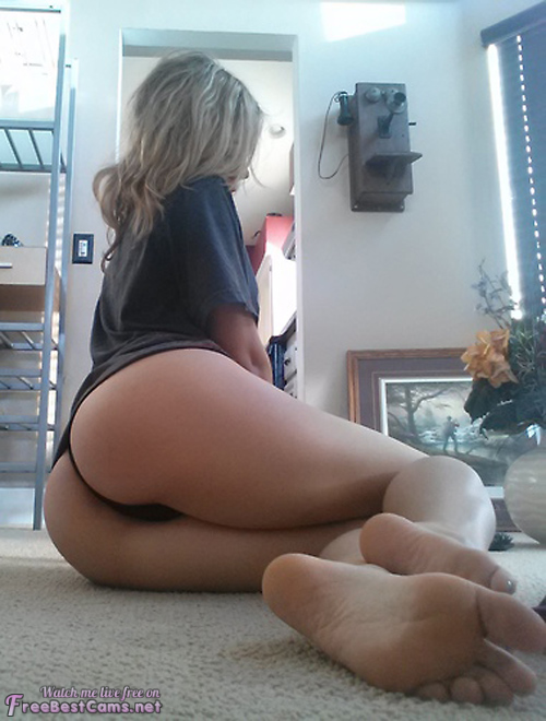 Sexy Blonde Pink Ass Pussy